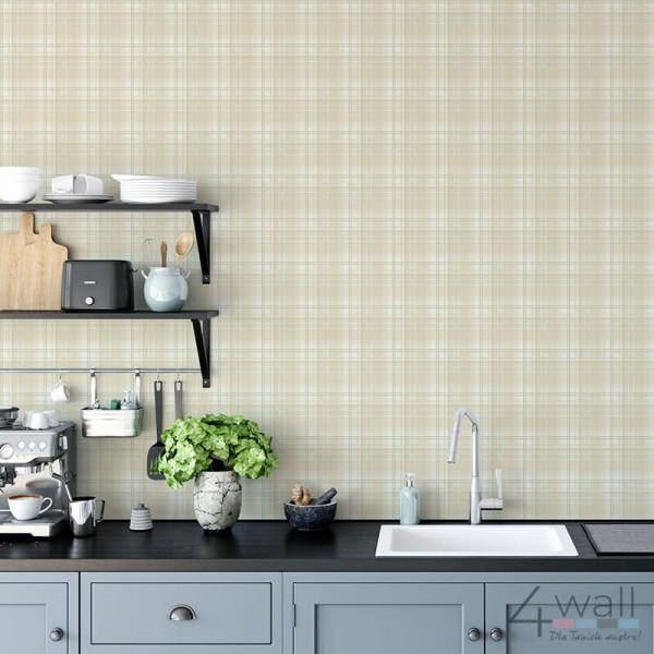 Tapeta Na ścianę Do Kuchni W Kratkę G12271