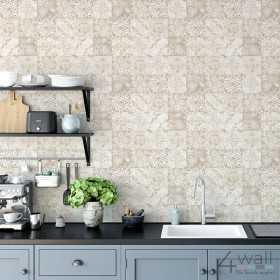 Tapety kuchenne imitujące płytki mozaika zmywalna