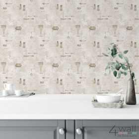 Kuchenne tapety z napisami zmywalne