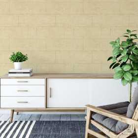 Tapeta w salonie na jednej ścianie beton