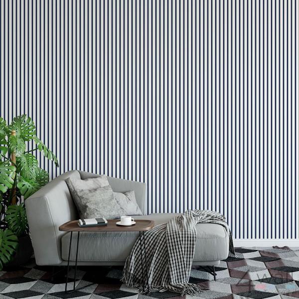 inspiracje - tapety w salonie i pokoju dziennym