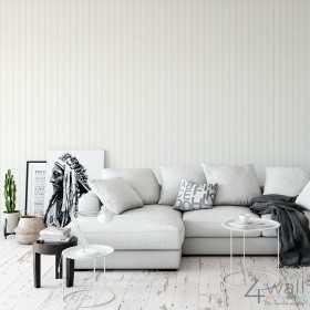 Tapety białe w jasne pasy