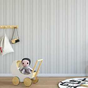 Dziecięca tapeta w paseczki
