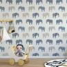 Dziecięca tapeta w stylu Skandynawskim