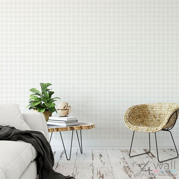 Tapety geometryczne szare do salonu nowoczesne i modne