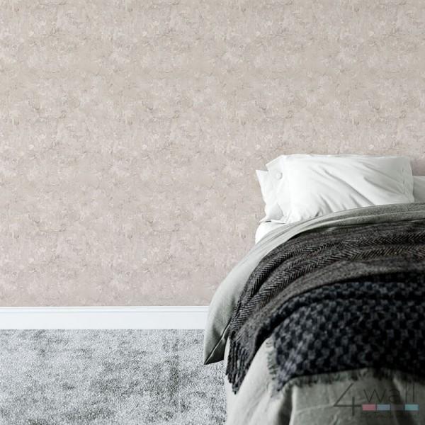 Tapeta na ścianę beton do sypialni winylowa