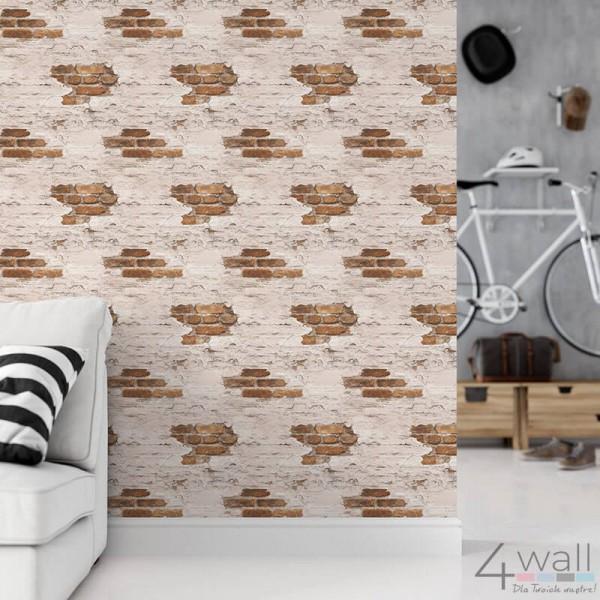 Tapeta imitacja cegły mur
