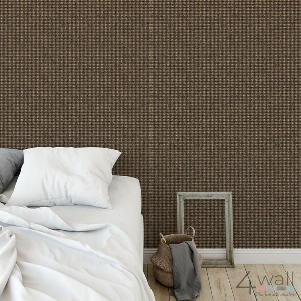 Tapeta na ścianę za łóżkiem w sypialni pomysły i aranżacje