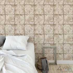 Tapeta w stylu barokowym do sypialni
