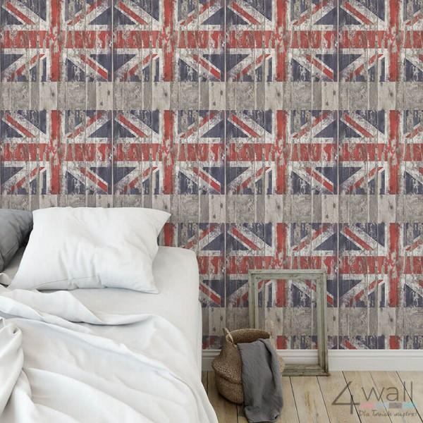 Tapeta ścienna flaga Wielkiej brytanii