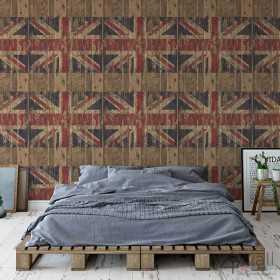 Tapeta ścienna flaga Anglii UK