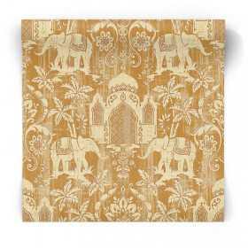 Złota tapeta w stylu marokańskim G67360