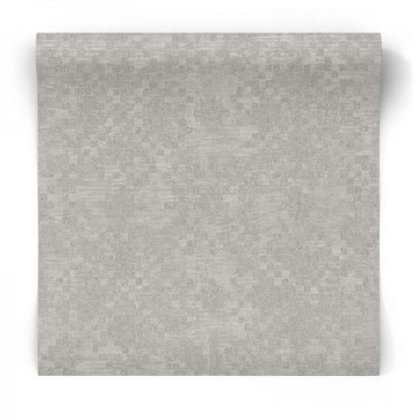 Srebrna tapeta błyszcząca G67396