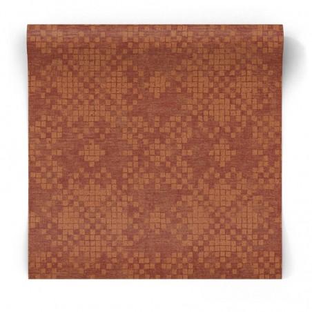 Błyszcząca tapeta w mozaikę G67398