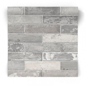 Taprta w szare cegły LL29533