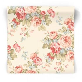 Tapeta vintage w kwiaty AB27614