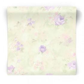 Tapeta w malowane kwiaty AB27662