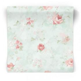 Tapeta w pastelowe kwiaty AB42417