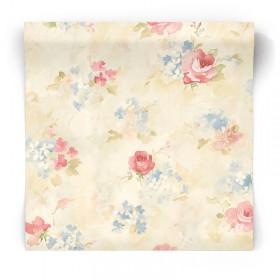 Tapeta w kwiaty vintage AB42418