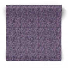 Fioletowa tapeta w mozaikę G67418