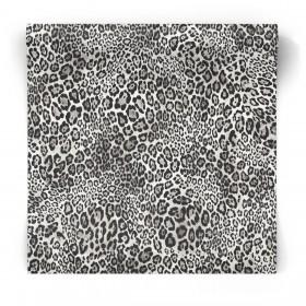 Tapeta w czarno biała w panterkę G67462
