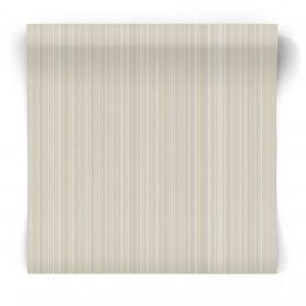 Beżowa tapeta w naturalne pasy g67479