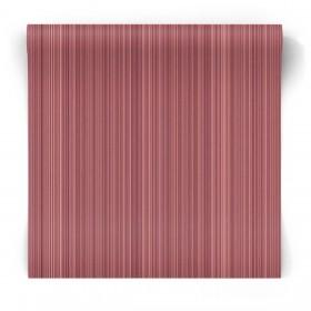 Czerwona tapeta w naturalne paski G67485