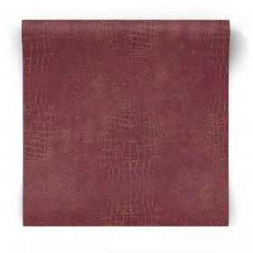 Czerwona tapeta imitacja sóry G67511