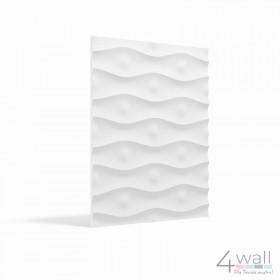 Panele 3D na ściane z gipsu płyty