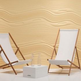 Panele ścienne 3D FALE ozdobne dekoracyjne