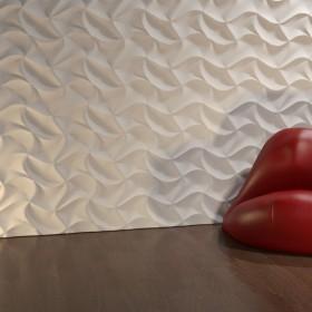 Panel ścienny aranżacje 3D