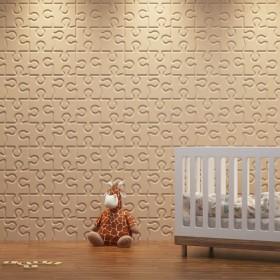 Panel dekoracyjny 3D na ścianę gipsowy