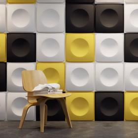 Dekoracyjny panel 3D na ścianę do malowania gipsowy