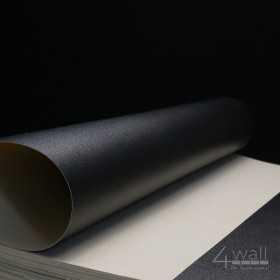 Tapeta w czarne pasy do przedpokoju - winylowa zmywalna