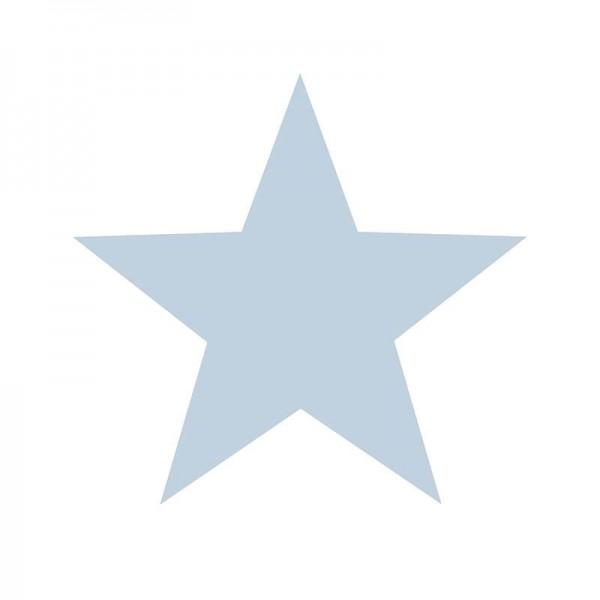 Tapeta w błękitne gwiazdki na białym tle