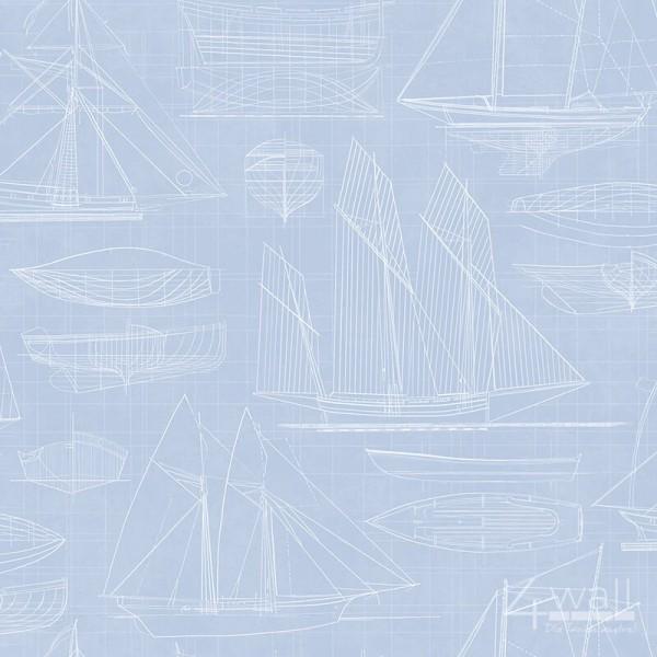 Deauville G23327 tapeta w żaglówki