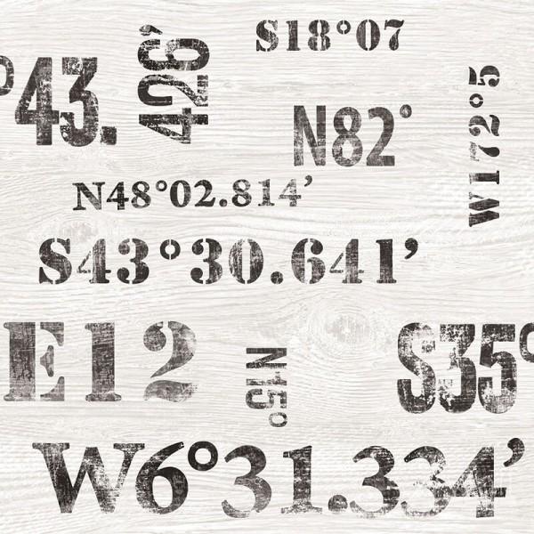 Młodzieżowe tapety z napisami Deauville G23329