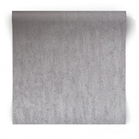 Tapeta srebrny błyszczący beton 104954