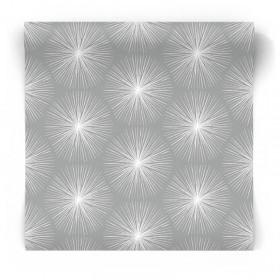 Szara tapeta geometryczna 105981