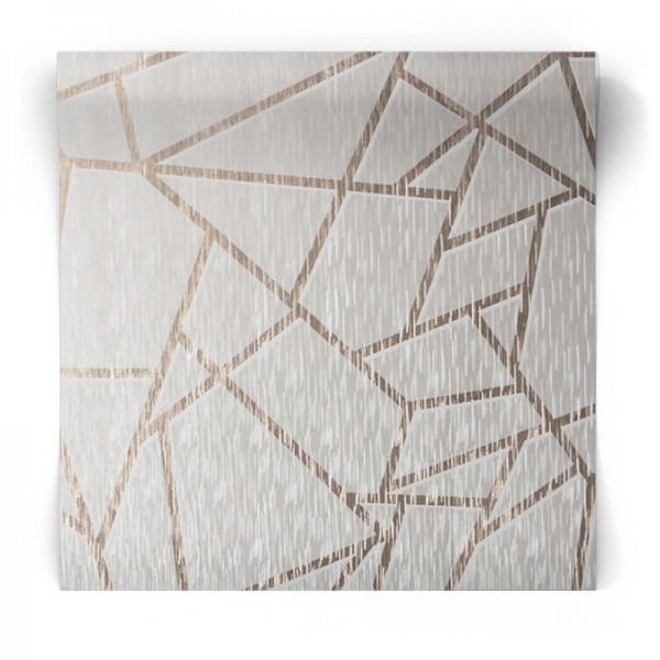"""Geometryczna tapeta """"Sieć"""" w linie 106593"""