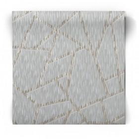 Miętowa tapeta geometryczna 106594