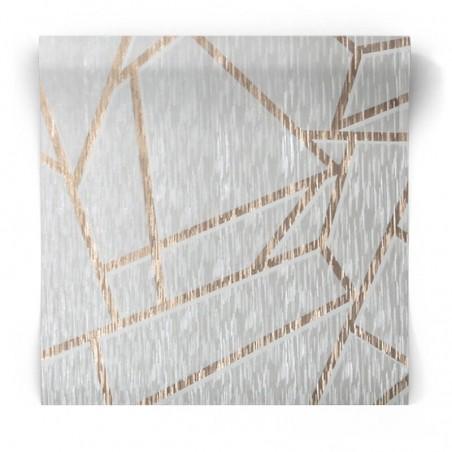 Tapeta geometryczna w linie 106596