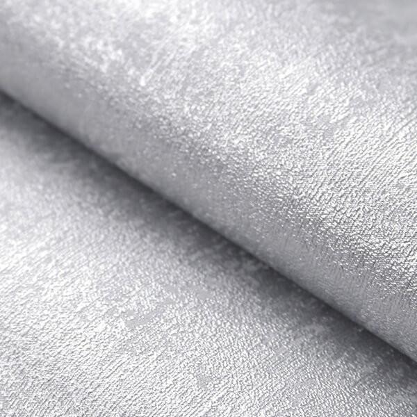 Tapeta w błyszczący beton w kolorze srebrnym