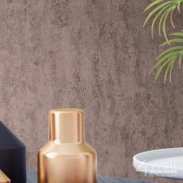 Tapeta imitacja betonu w kolorze złoto różowym