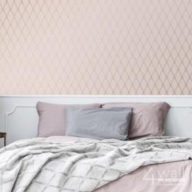 Tapety nowoczesne - aranżacje sypialni, zmywalna i odporna na zabrudzenia tapeta