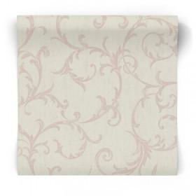 Tapeta Vintage w różowe wzory 104961