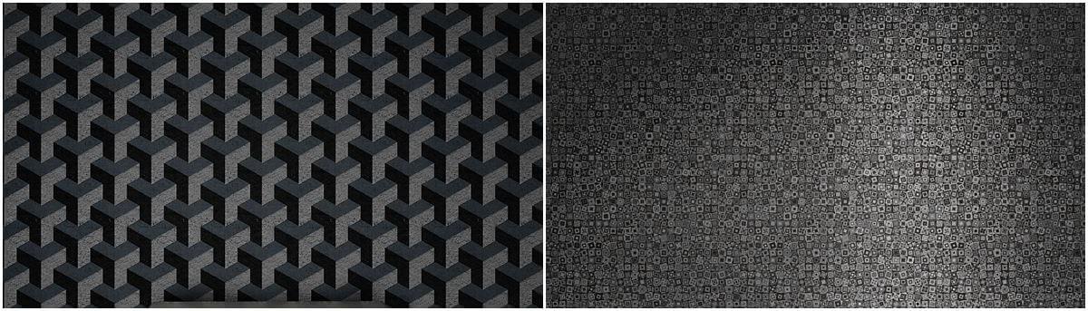 Tapety geometryczne aranżacje
