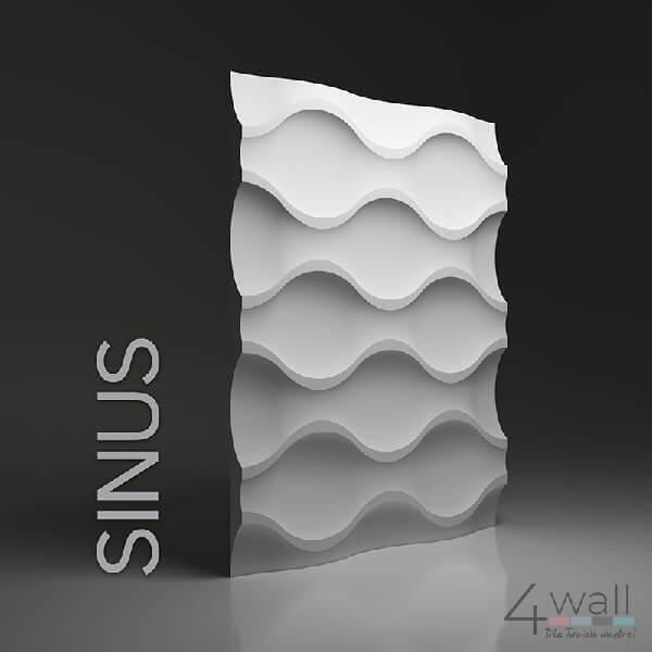 Panel dekoracyjny 3D Sinus Dunes