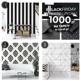 📣VOUCHER 1⃣0⃣0⃣0⃣zł  na zakup tapet w sklepie 4wall.pl📣 Z okazji zbliżającego się #blackfriday2019 mamy dla Was niespodziankę! 📢 Co należy zrobić:⤵️⤵️⤵️ 1.Wybierz najciekawszy wzór tapety wpisując w komentarzu 1,2 lub 3 ❤ 2. Udostępnij zdjęcie na swoim profilu lub instastory i oznacz nas @4wall.pl 📢 3. Zaobserwuj nas na IG @4wall.pl lub FB (@4wallpl) Zabawa trwa do #blackfriday 29.11.2019 ! Następnego dnia ogłosimy wynik na profilu 🏆 😎Zaproszenie znajomych do zabawy to dodatkowa szansa na wygranie, ponieważ w puli Twoja nazwa użytkownika może pojawić się 2x 😉  Regulamin dostępny pod linkiem: https://bit.ly/2rzcQge  Do dzieła! 💪 #blackfriday2019 #czarnypiatek #rozdanie #rozdanie_polska #interiorlovers #stylowewnetrza #interiorstyles #room123 #interiorforinspo #designlover #blackfridaysale #voucher #nagrody #wygraj #skleponline #sklepinternetowy #zakupy #zakupyonline #wygrywaj #wygrajvoucher #shoppingonline #fridaysale #wallcoverings #wallpaper #autumn2019 #autumnsale #rozdanienainstagramie #goodluck